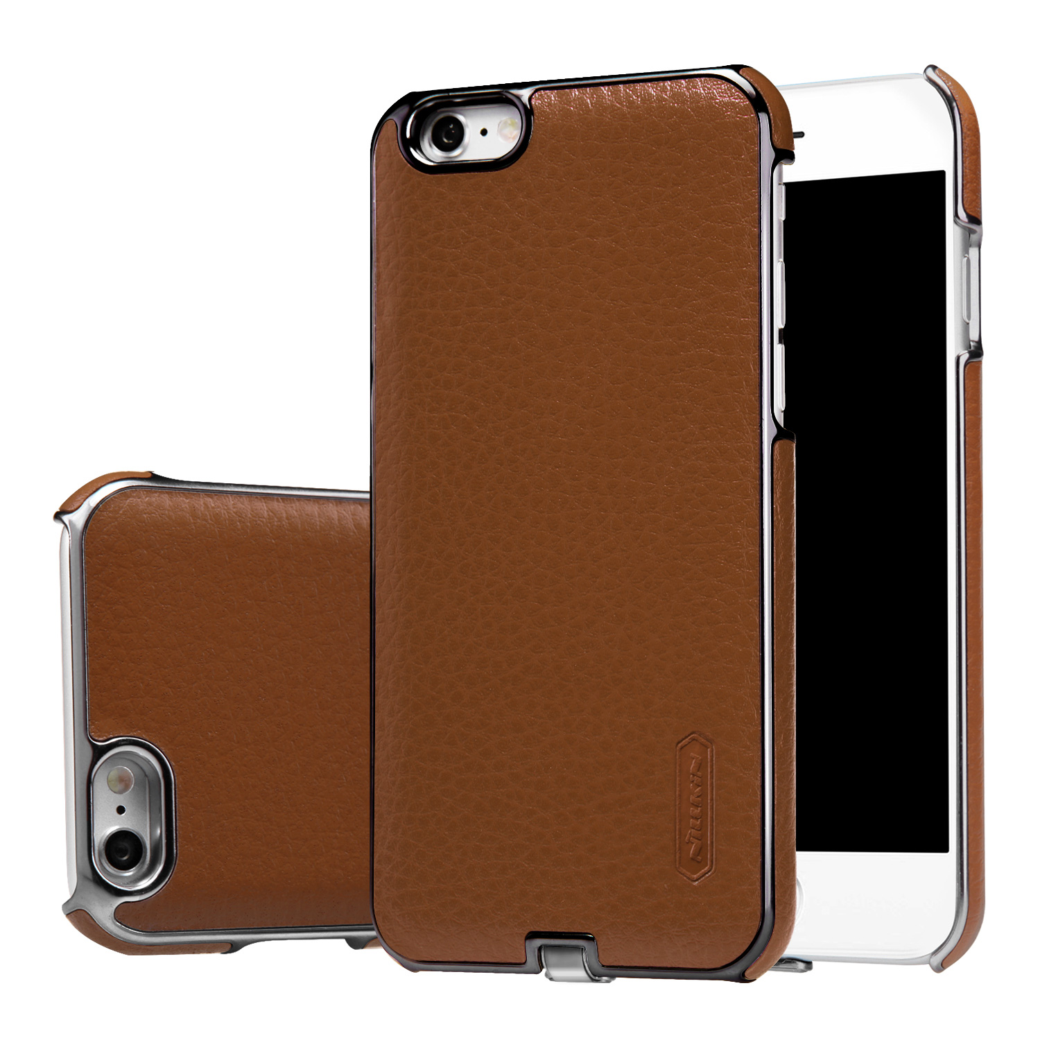 qi wireless charging luxury leather cover receiver case for iphone 6 and 6s ebay. Black Bedroom Furniture Sets. Home Design Ideas