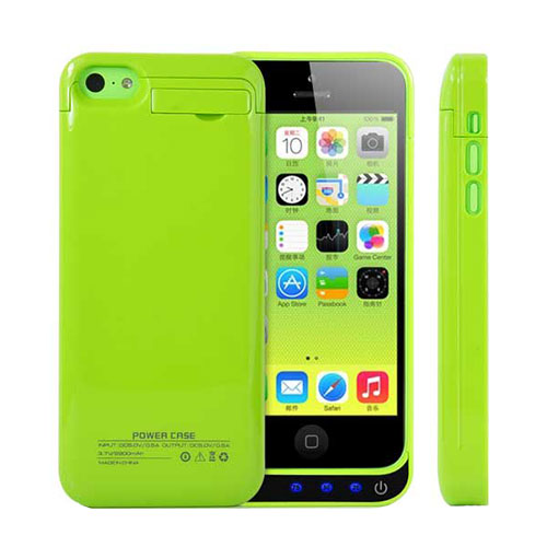 iphone 5c battery case iphone 5c external battery backup charger power 2200mah 14634