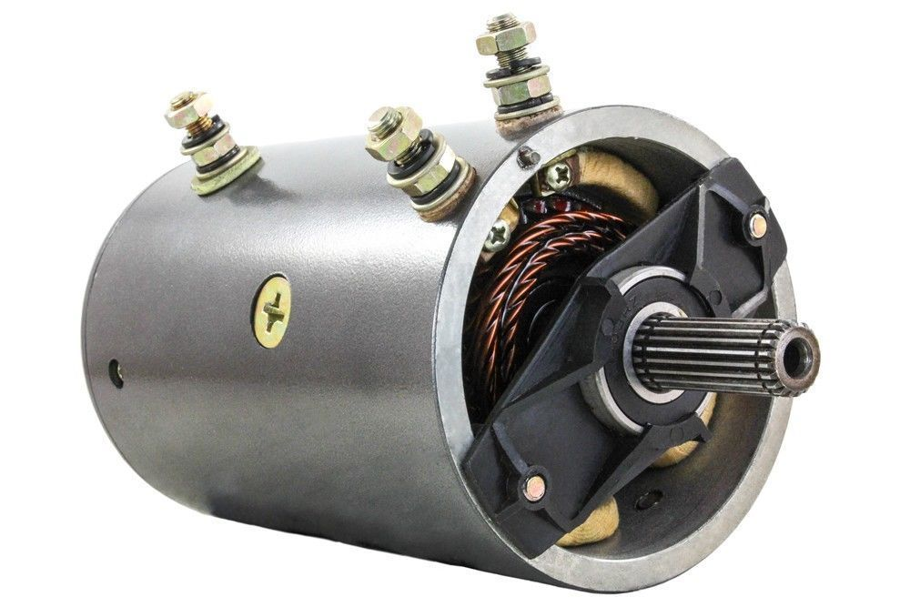 Winch motor for warn winch 24v 20 spline 4 8hp 26712 31682 for Smith motor company wv