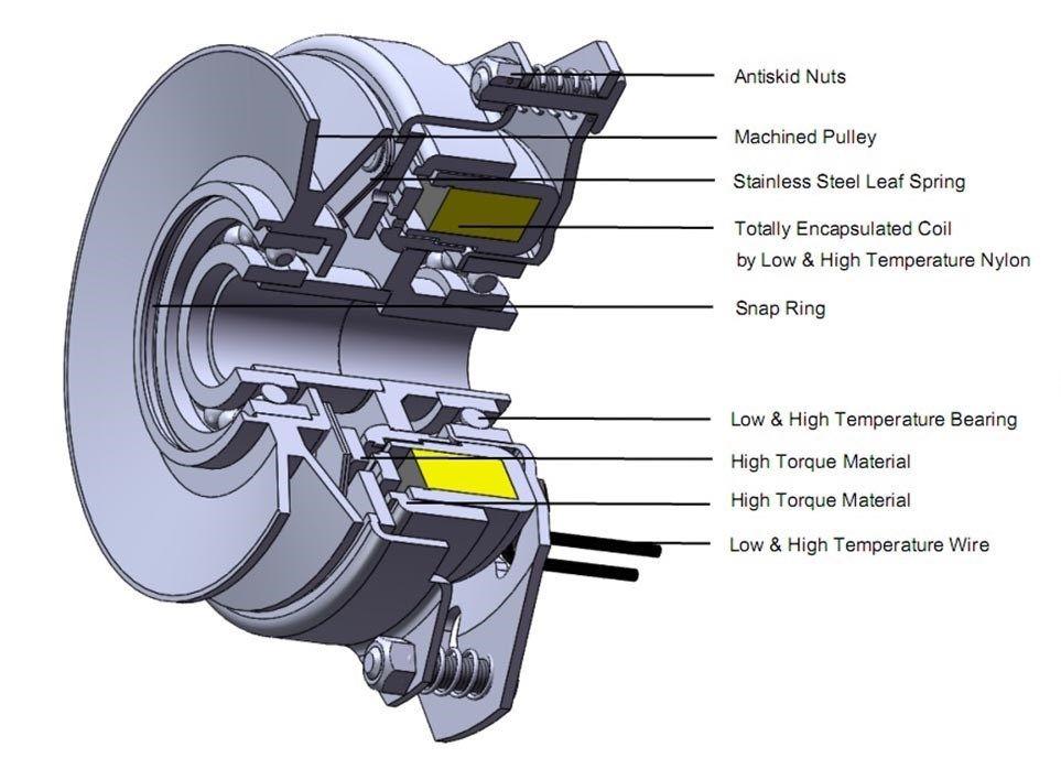 PTO Clutch For Bolens GW-B1755341 Free High Torque /& Bearing Upgrade