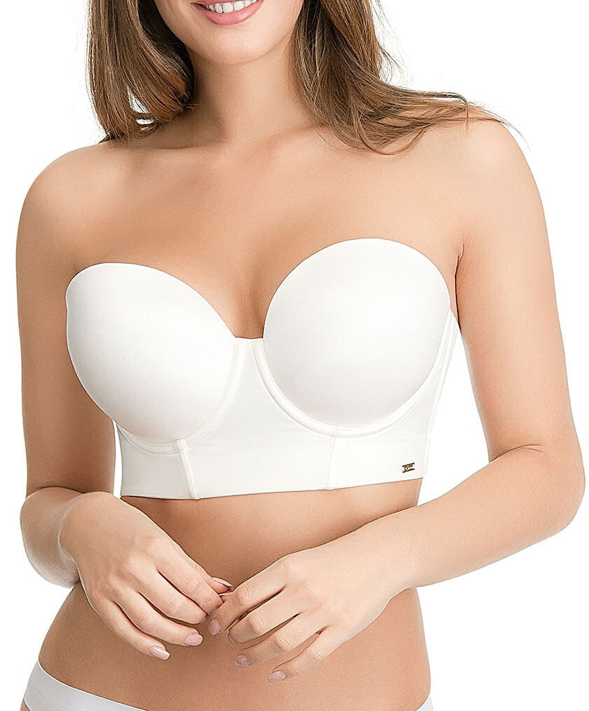 Ultimo-Longline-Low-Back-Bra-Push-Up-Strapless-0413-Underwired-Moulded-Foam-Cups thumbnail 9