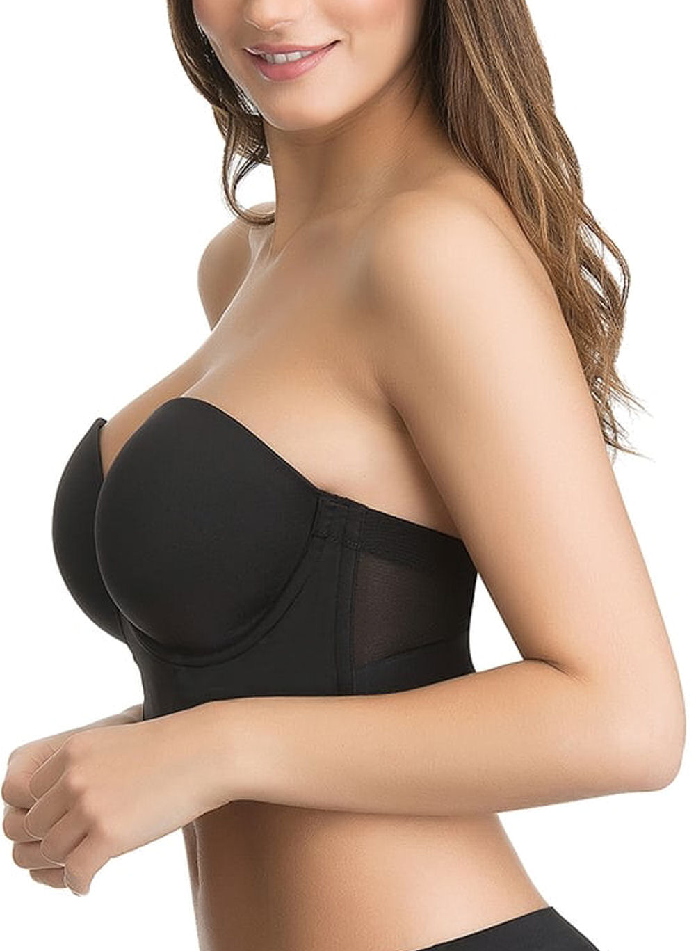 Ultimo-Longline-Low-Back-Bra-Push-Up-Strapless-0413-Underwired-Moulded-Foam-Cups thumbnail 5