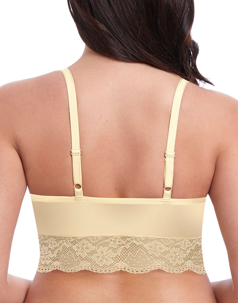 16cce668db9e1 Freya Fancies Sexy Lace Bralette 1010 Non Wired Non Padded Bra Lingerie -  Yellow. click image to enlarge