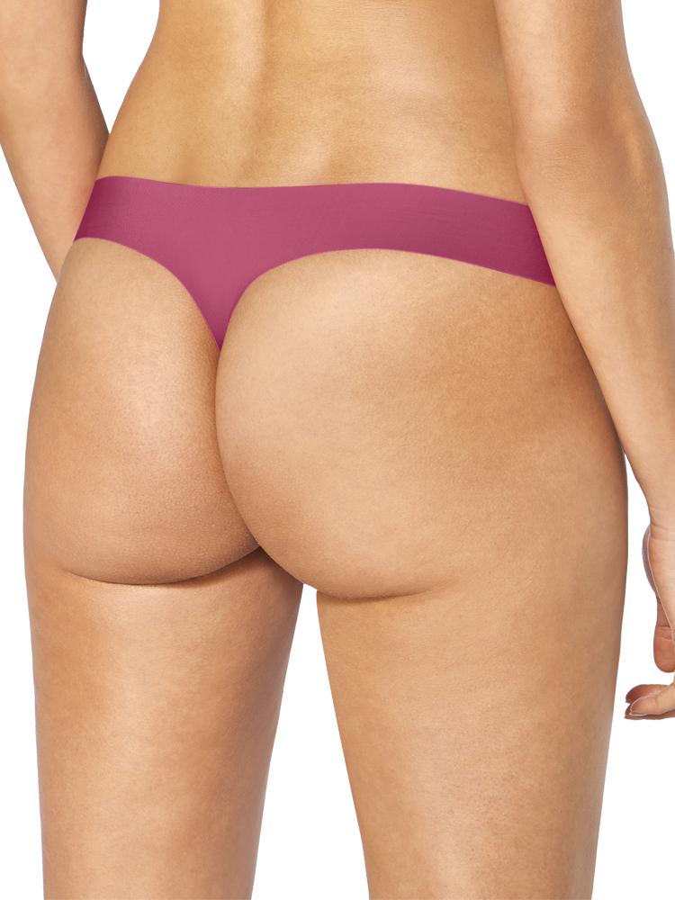 Guava Sloggi Zero Feel Thong Mid Rise 10189219 No Vpl String Seamless Lingerie Panties