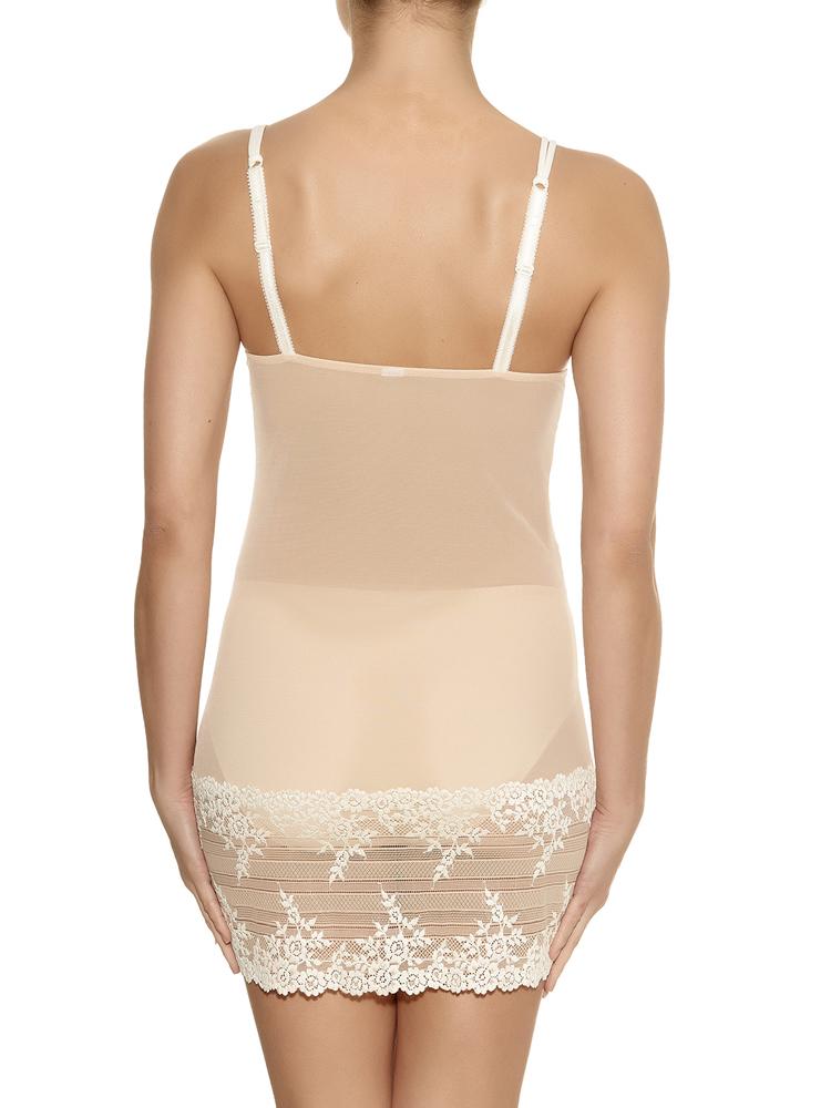 f37dd5503 Wacoal Embrace Lace Chemise Night Dress 814191 Semi Sheer Nightwear ...