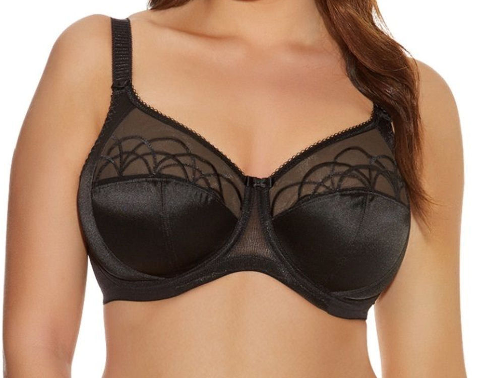 37f2d031a6dfb Elomi Cate Underwired Full Cup Banded Bra All Sizes 2 Colours - El4030  Black 38 JJ. About this product. Picture 1 of 4  Picture 2 of 4 ...