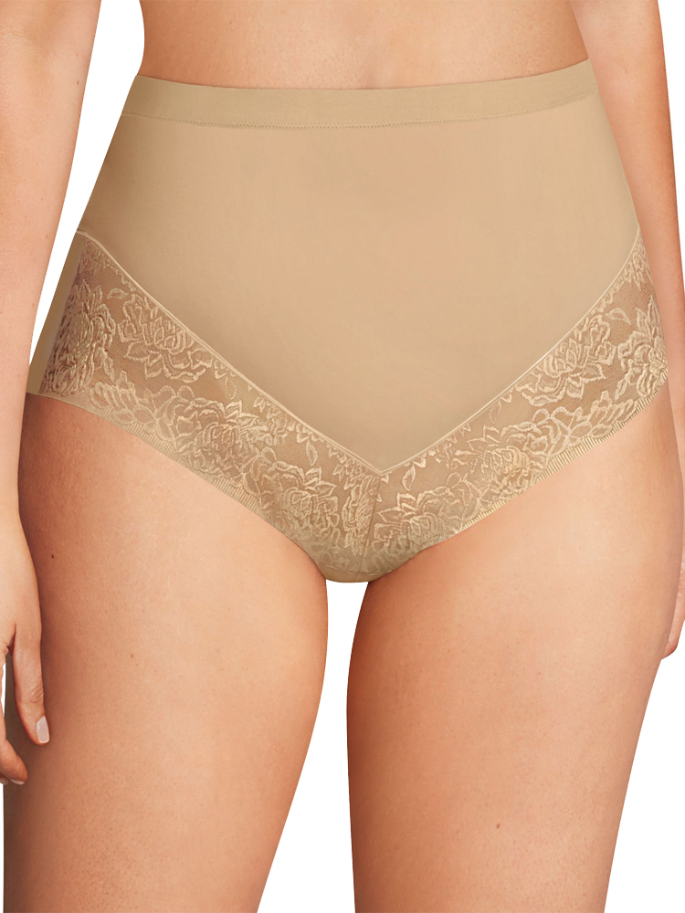 Shapewear Maidenform Firm Foundations Curvy At-waist Brief Dm0045 High Rise Shapewear