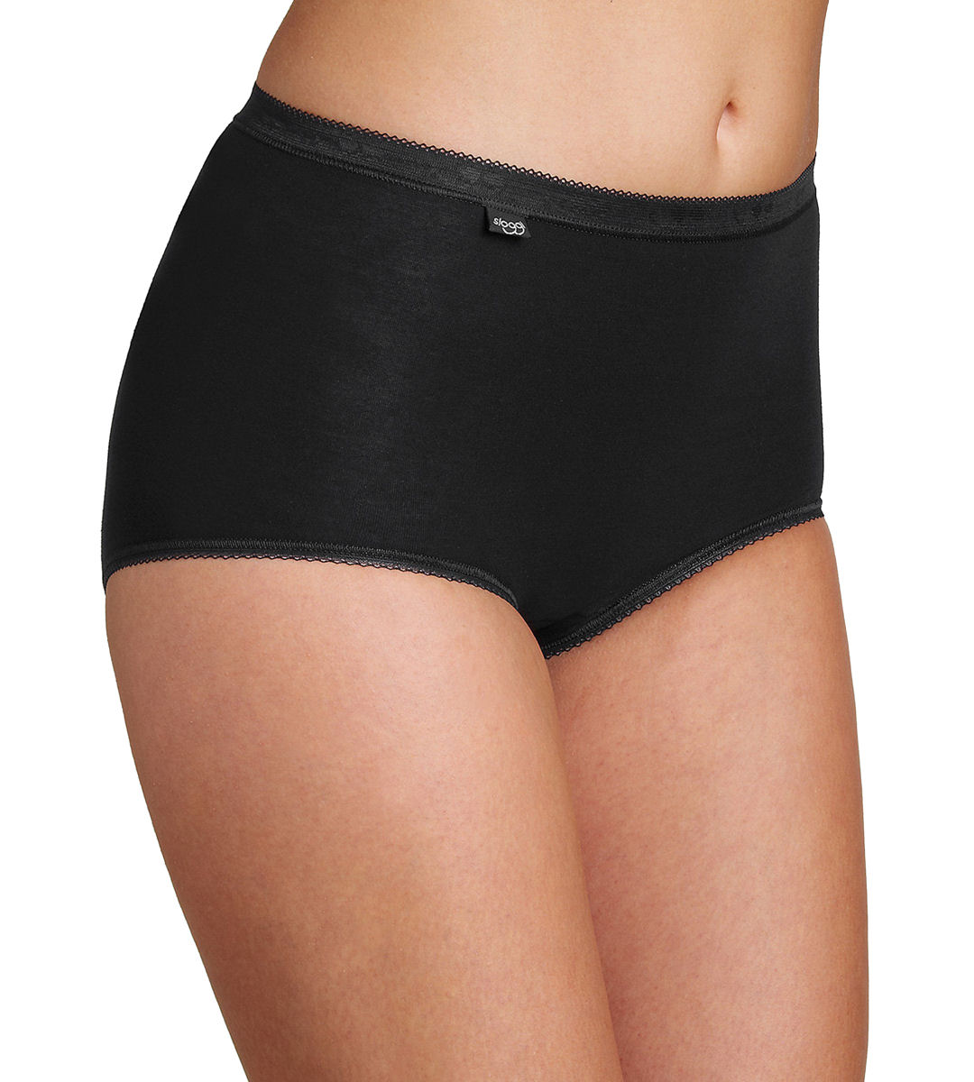 94789f6a561c sloggi Womens Basic Maxi Briefs Cotton With Lycra FreeFit X-move (4 ...