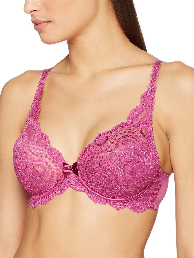 Playtex-Flower-Lace-Full-Cup-Bra-P5832-Underwired-Non-Padded-Stretch-Lace