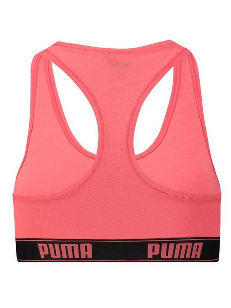 db757661dbc Puma Racerback Soft Stretch Cotton Crop Top 58402001 Non Wired Cups ...