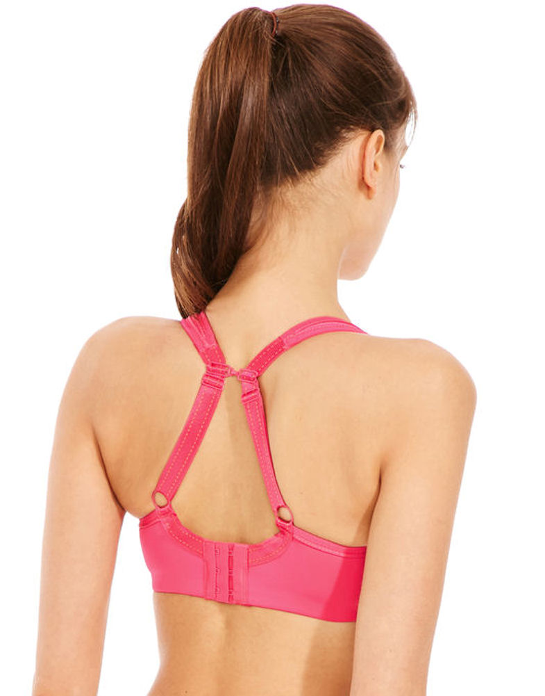87c8ec9f0b919 Chantelle Sports Bra Top Pink Size 40f High Impact Underwired Padded  Convertible 40 F. About this product. Picture 1 of 4  Picture 2 of 4   Picture 3 of 4 ...