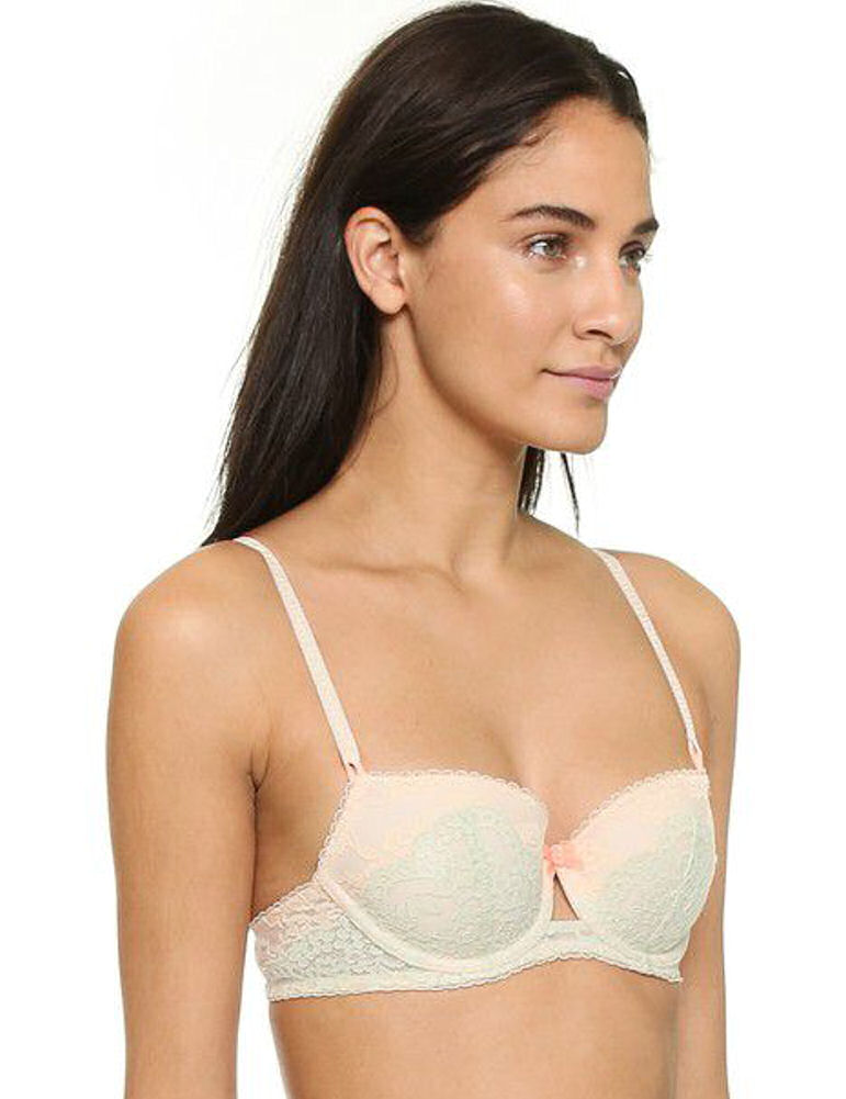 Heidi Klum Surf Crush Half Cup Bra 231344 Underwired Contour Balcony Padded