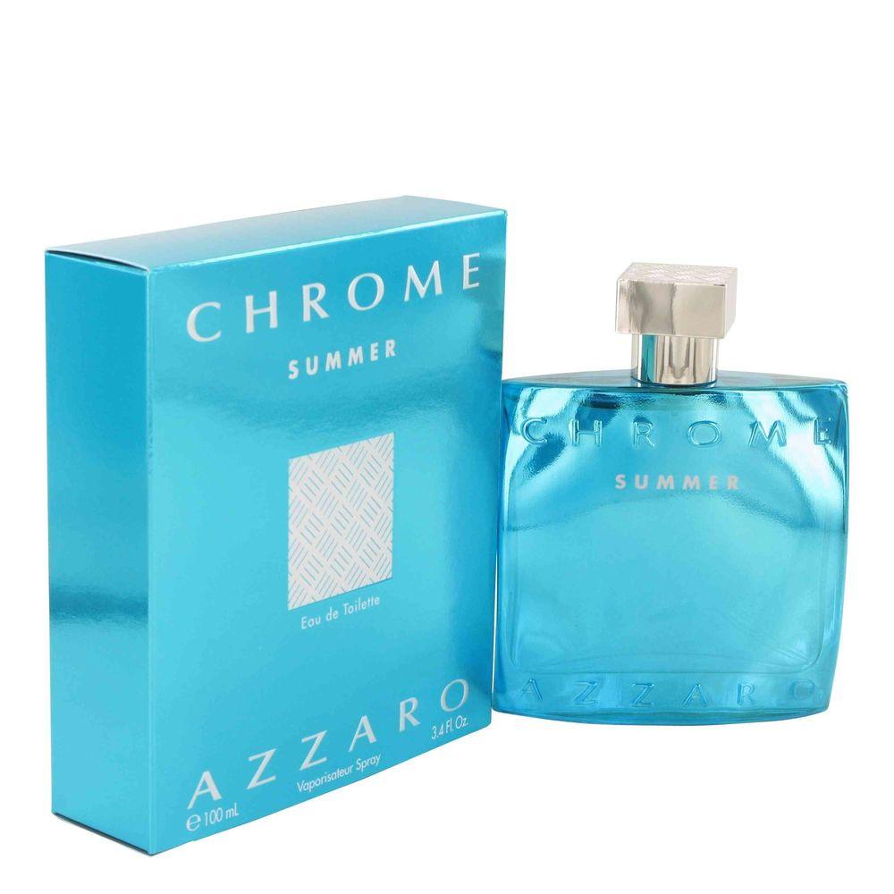 4896aa2c22 Chrome Summer by Loris Azzaro Eau de Toilette For Men s 3.4 FL oz 100 ML