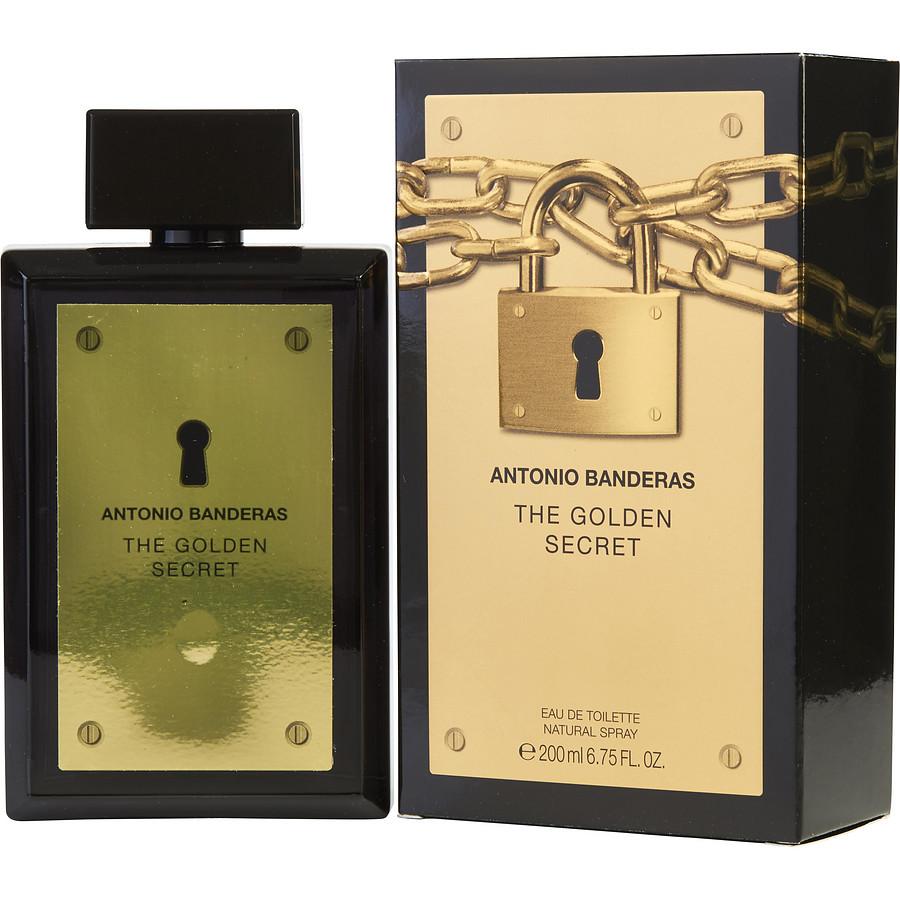The Golden Secret By Antonio Banderas Eau De Toilette 67 Fl Oz