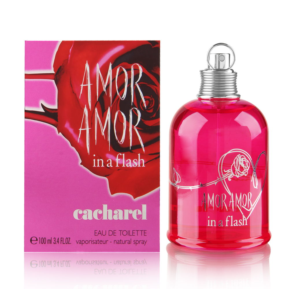 Amor Amor In A Flash By Cacharel Eau De Toilette 34 Fl Oz 100ml