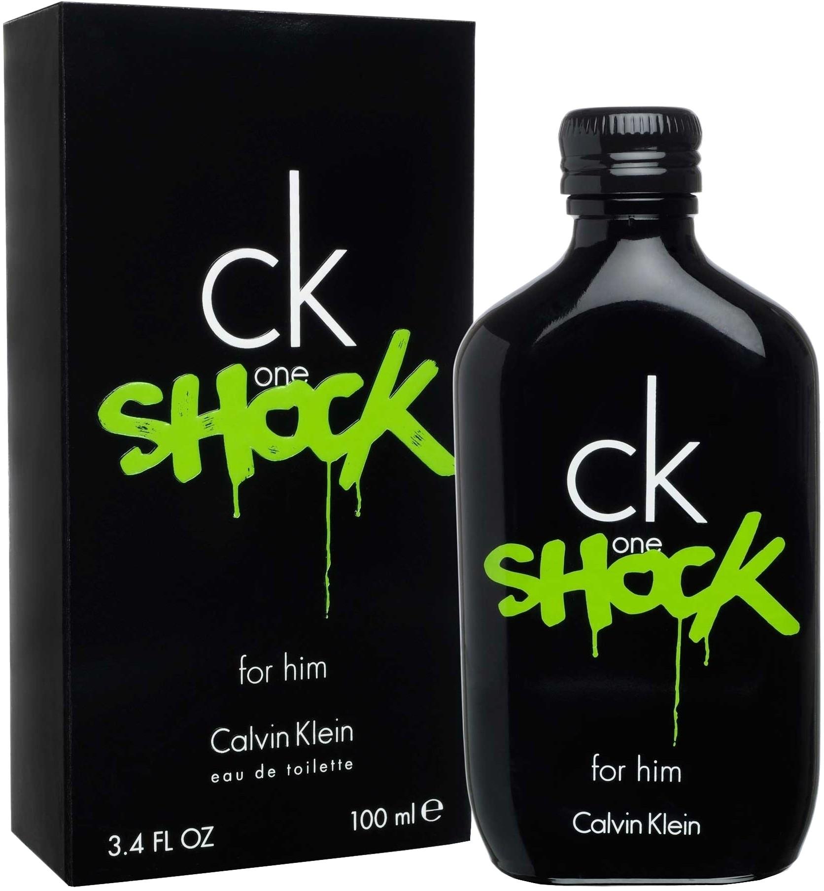 80ebbcd6cc6c9e Details about CK One Shock by Calvin Klein for Men Eau De Toilette 3.4 fl  oz 100 ml