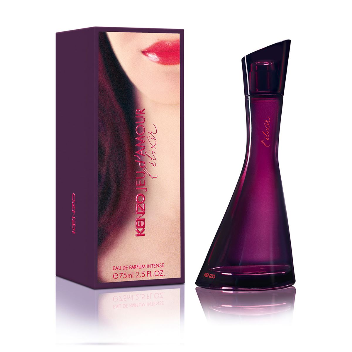 Details About Jeu D Amour L Elixir By Kenzo Eau De Parfum Intense For Women S 2 5 Fl Oz 75 Ml