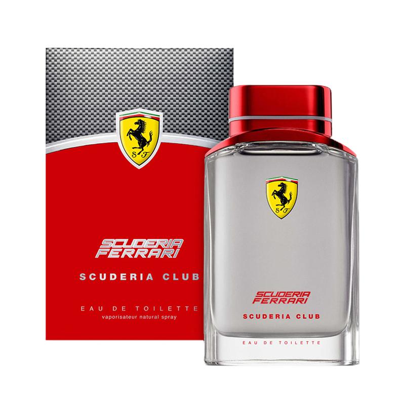 db915052d7 Scuderia Club By Ferrari Eau De Toilette For Men's 4.2 fl oz 125 ml ...