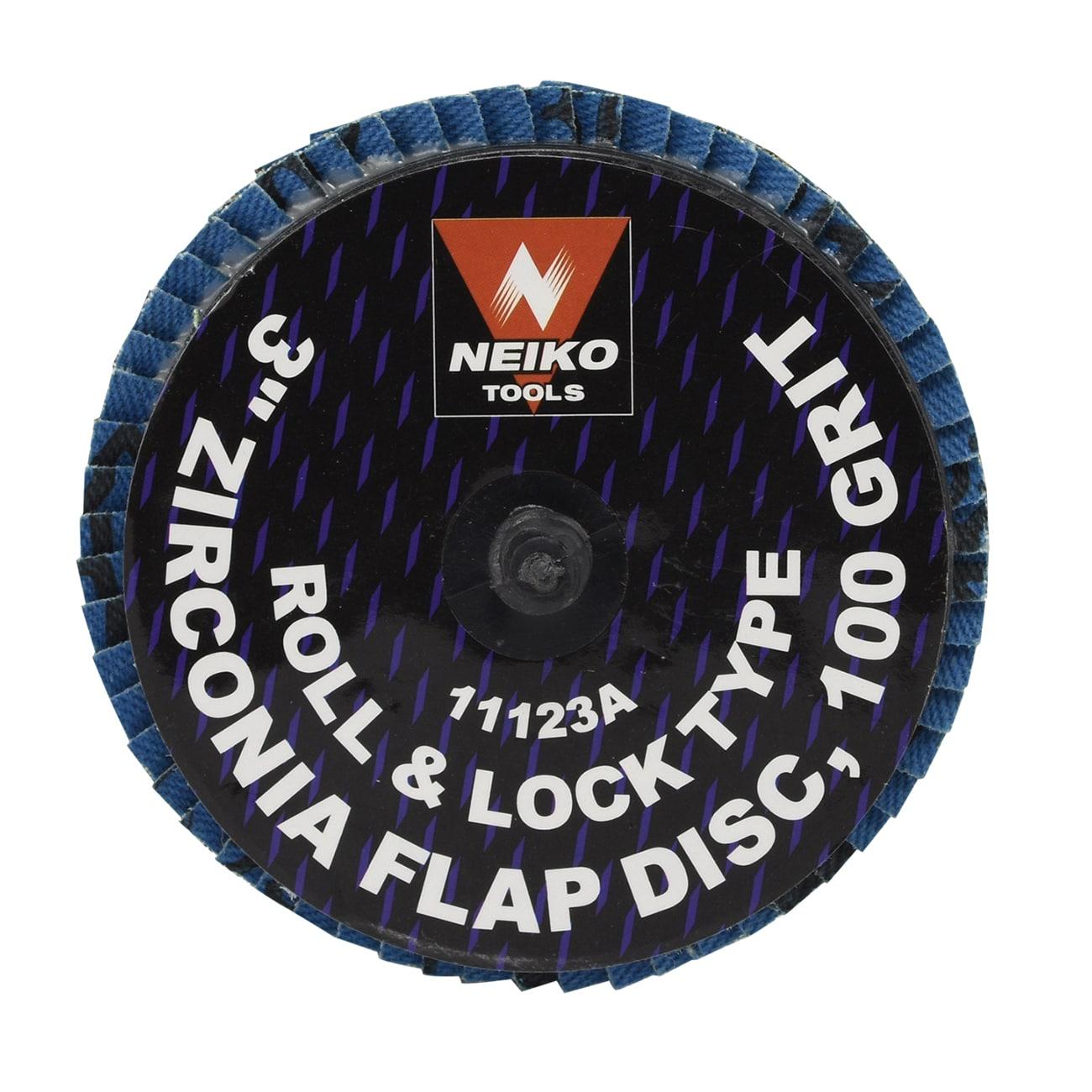 """3/"""" Zirconia Oxide 60 Grit Roll /& Lock Sanding Flap Disc Abrasive Type R 10"""
