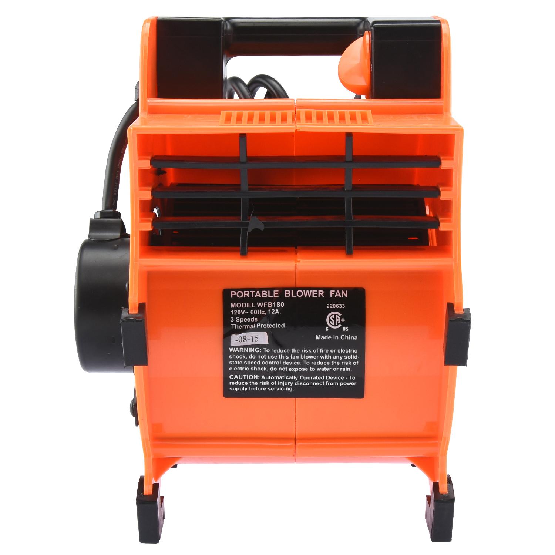 Industrial Air Movers : Industrial air mover fan blower floor carpet dryer