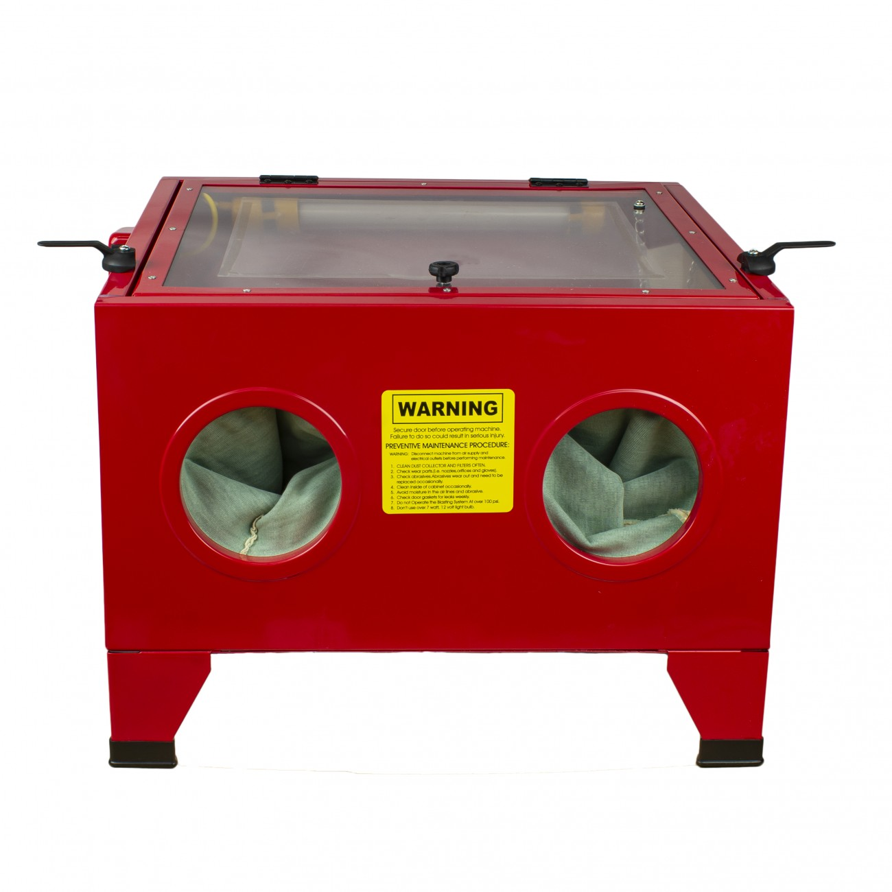 Details about Portable Sand Blasting Bench Top Cabinet (Large) | Abrasive  Blaster W/ Light