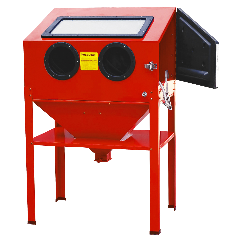 deluxe g cabinet sbc prod included vacuum sandblasting sand pro blast