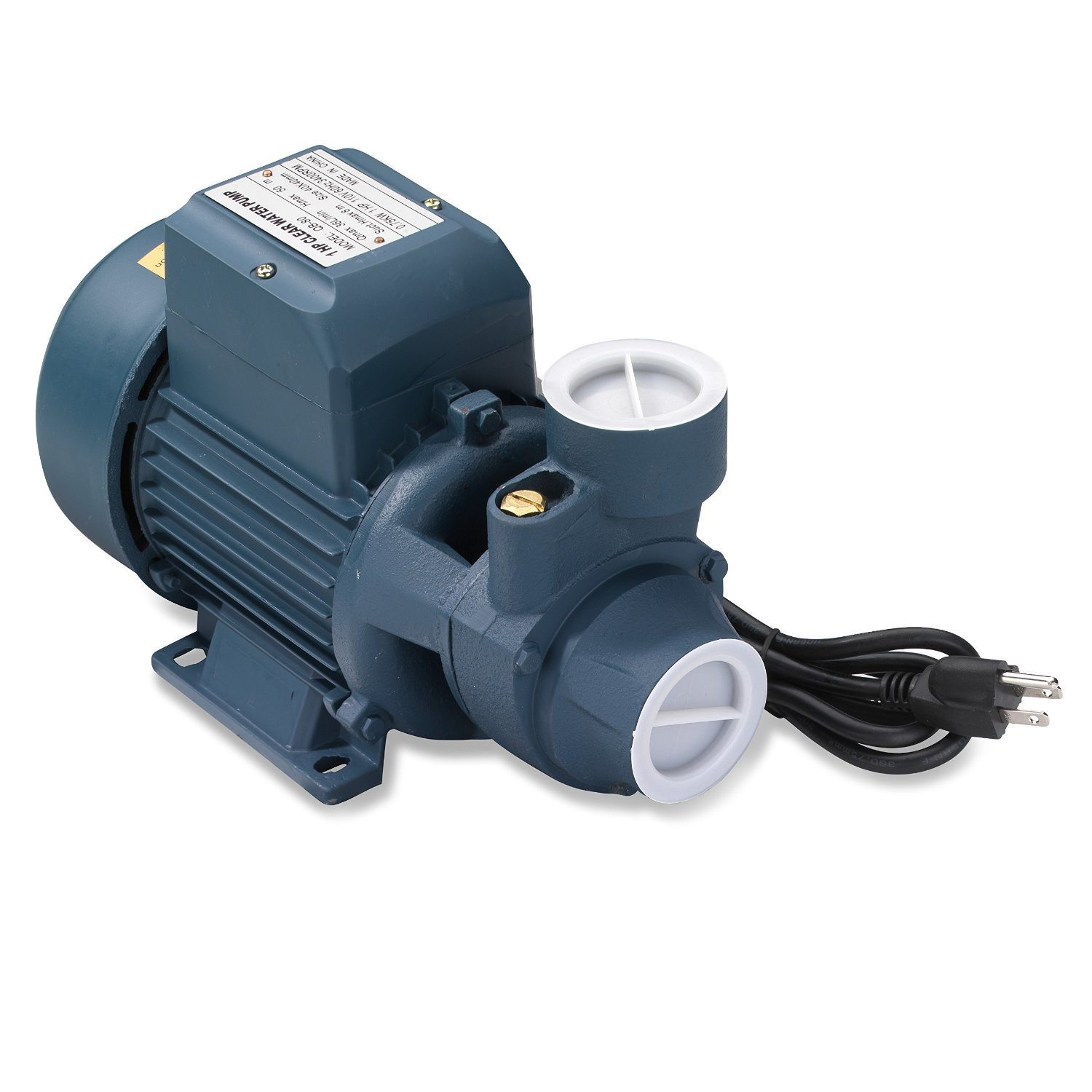 Details about 1 HP 110 V Clear Water Pump 925 GPH | Pools, Ponds,  Irrigation, Centrifugal