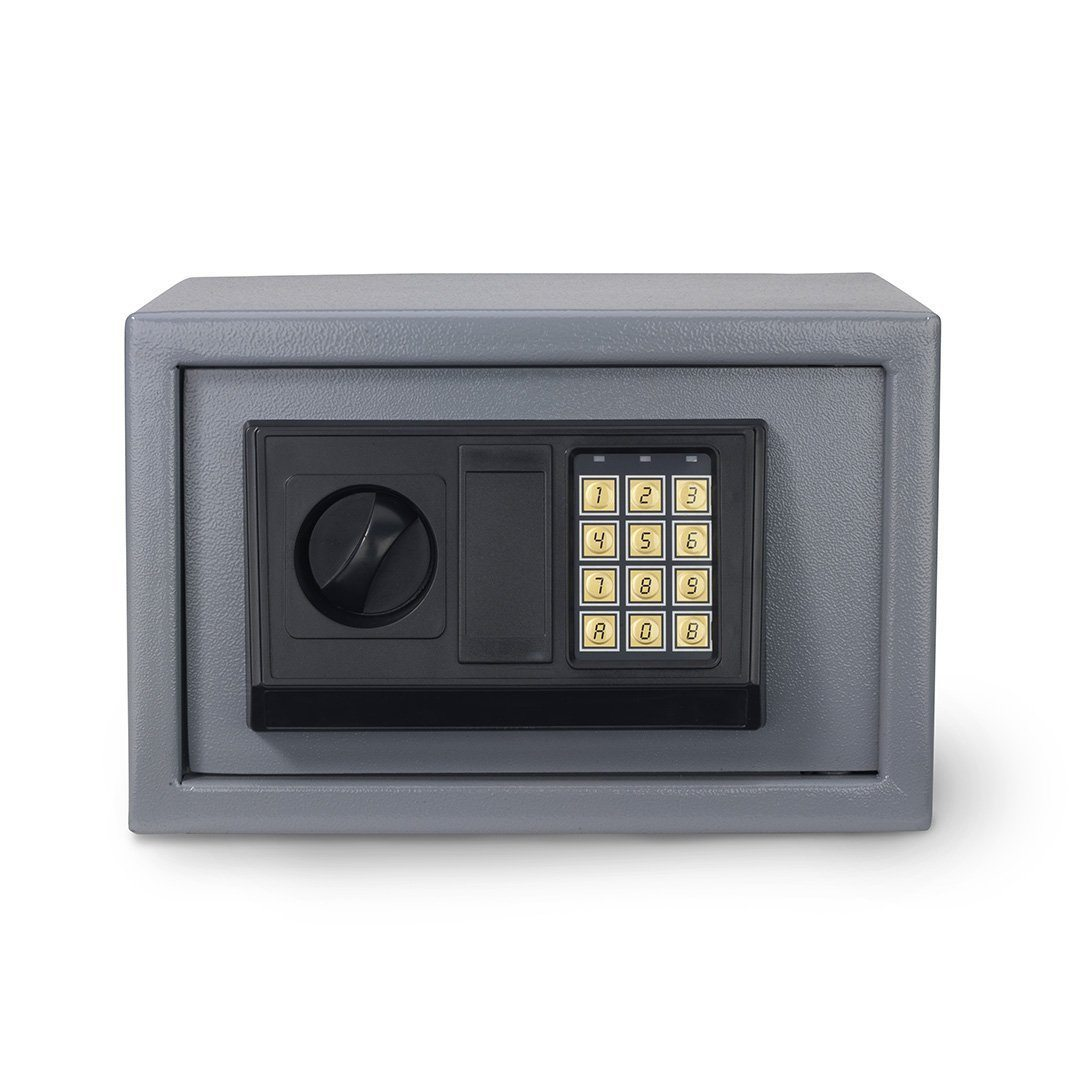 electronic safe 12 digital home security lock box. Black Bedroom Furniture Sets. Home Design Ideas