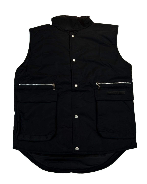 GianFranco-Ferre-X-large-Nero-Black-Sleeveless-Jacket thumbnail 3