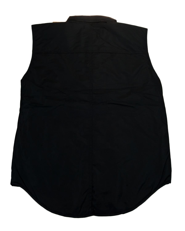 GianFranco-Ferre-X-large-Nero-Black-Sleeveless-Jacket thumbnail 2