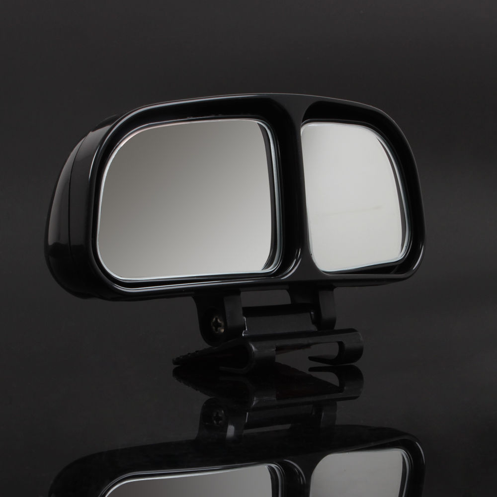 Vehicle Towing Mirrors : Ajustable car towing wide angle mirrors blind spot