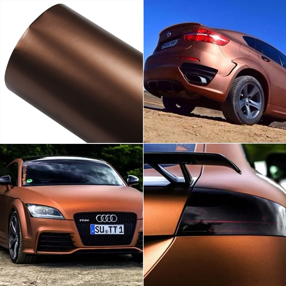 Details about ice brown 200mm300mm auto car pvc vinyl wrap sticker decal film sheet stickers