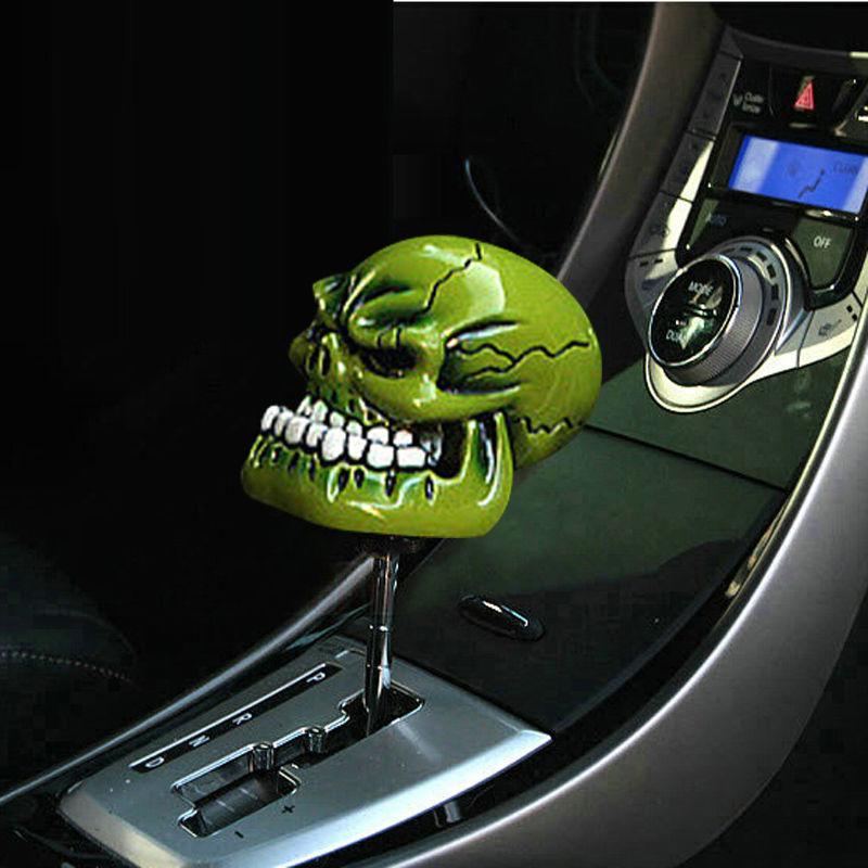 New Skull Head Car Auto Truck Manual Gear Stick Shift Knob
