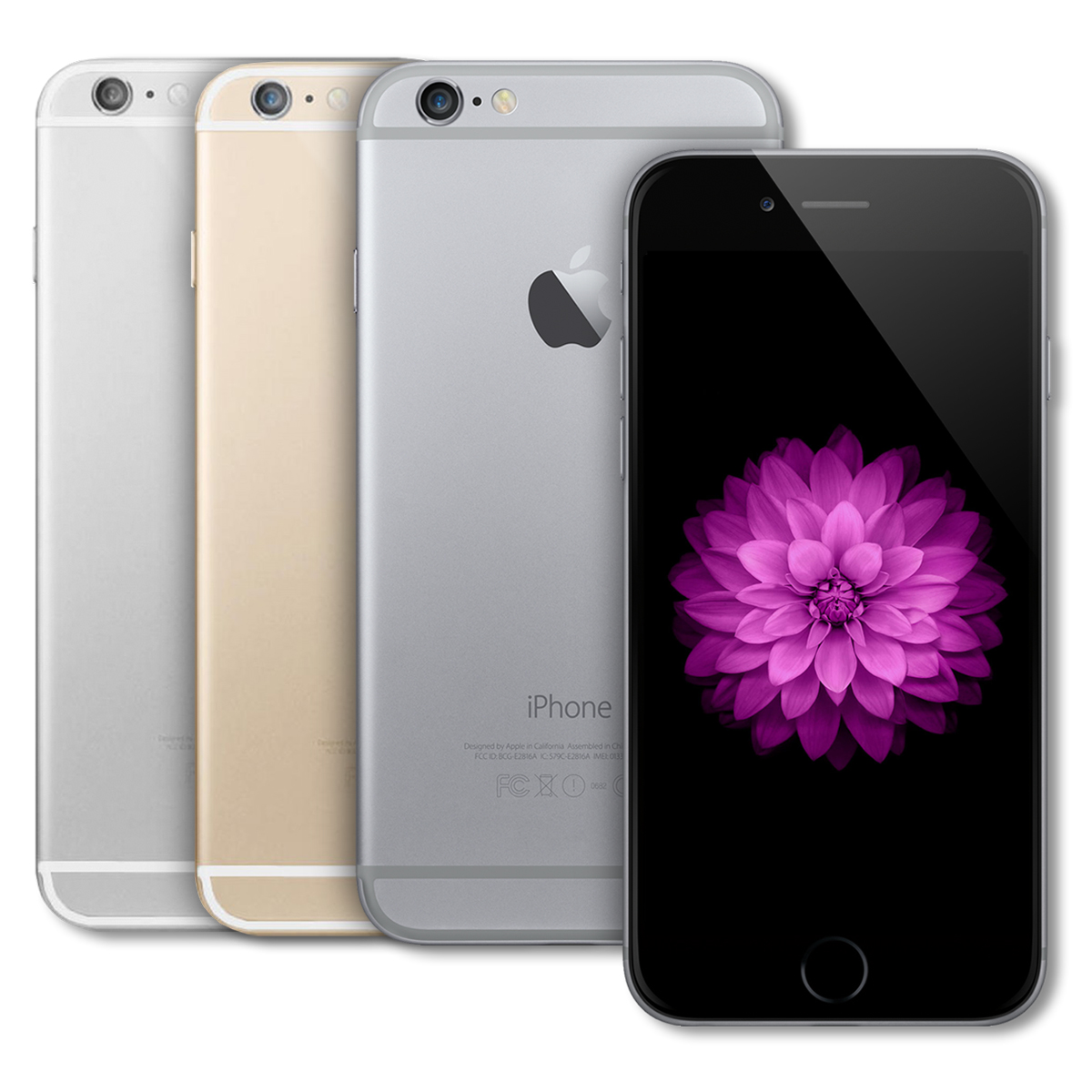 certified pre owned apple iphone 6 plus 16gb factory unlocked smartphone a1524 ebay. Black Bedroom Furniture Sets. Home Design Ideas