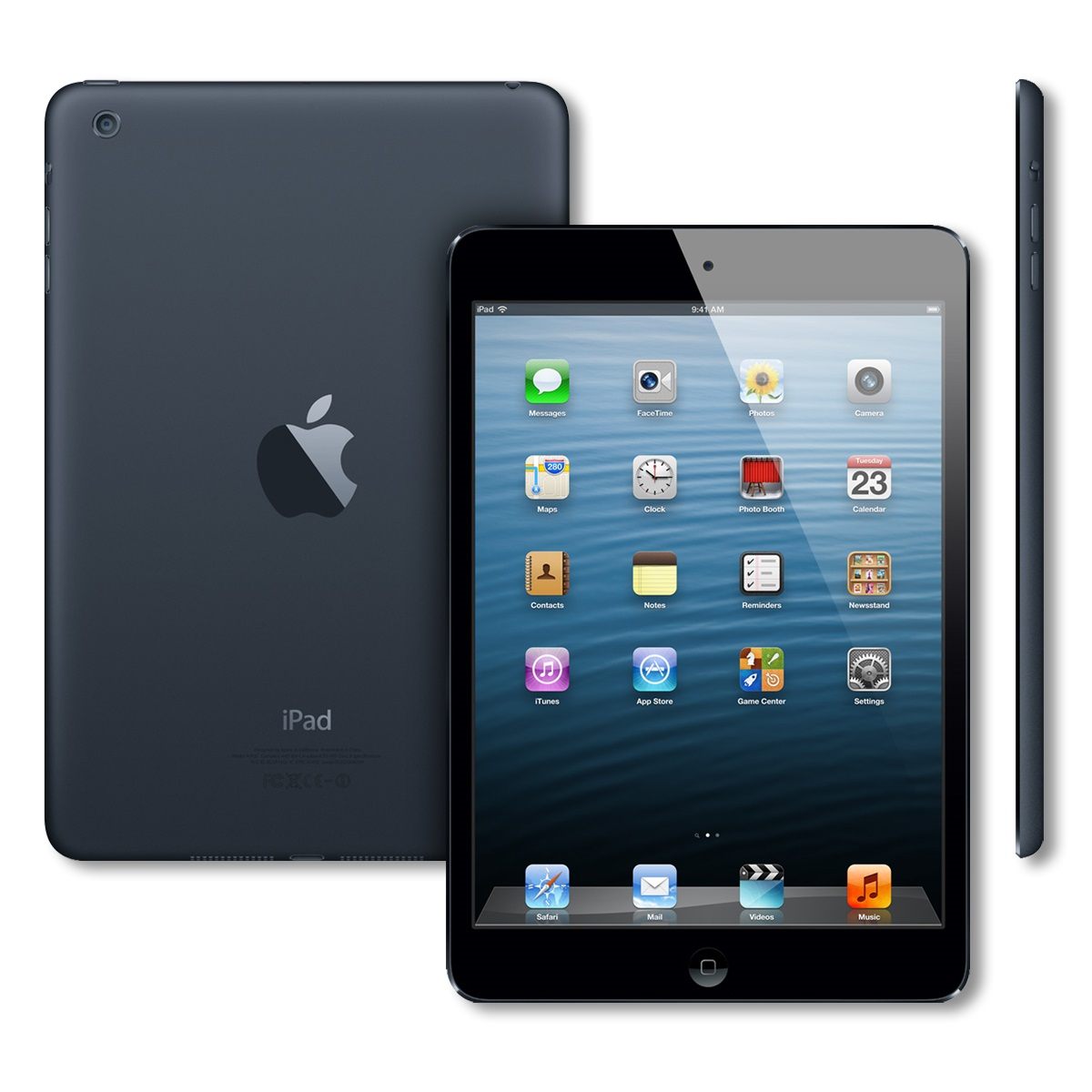 apple ipad mini 1st generation 64gb 7 9 screen wi fi only. Black Bedroom Furniture Sets. Home Design Ideas