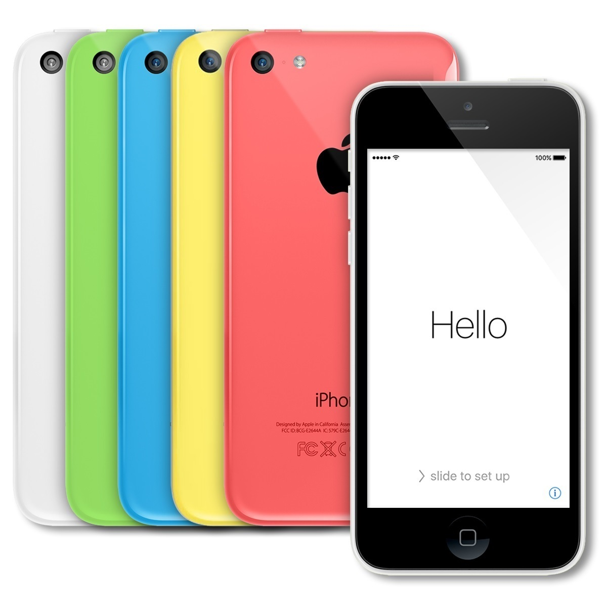apple iphone 5c smartphone 32gb att no contract ebay. Black Bedroom Furniture Sets. Home Design Ideas