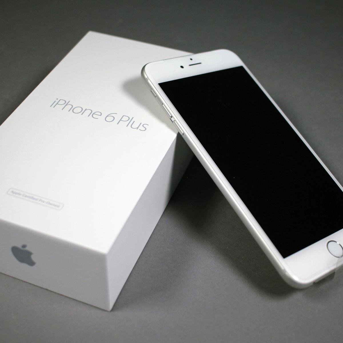 certified pre owned apple iphone 6 plus 16gb unlocked. Black Bedroom Furniture Sets. Home Design Ideas