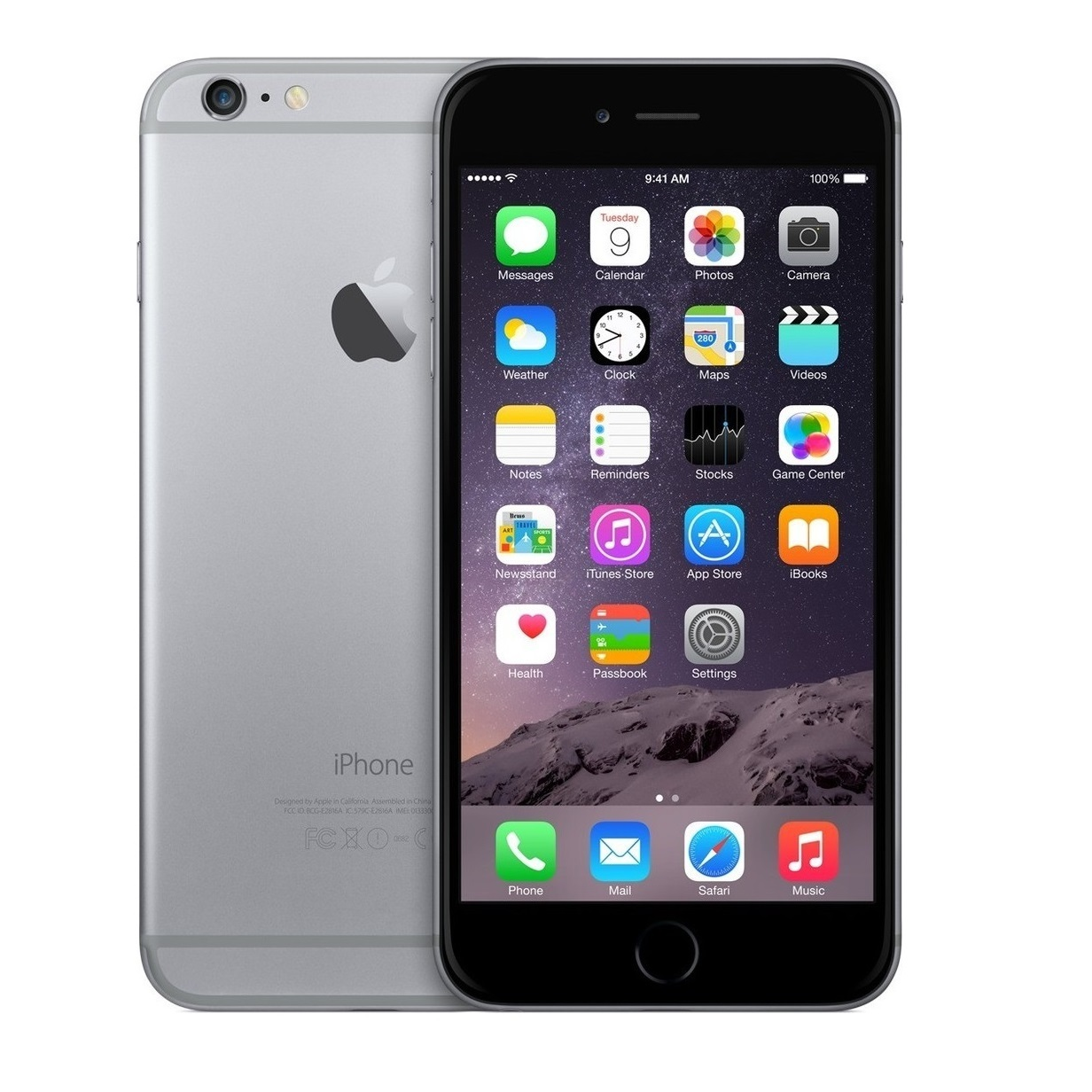 apple iphone 6 plus 128gb smartphone verizon no contract brand new ebay. Black Bedroom Furniture Sets. Home Design Ideas