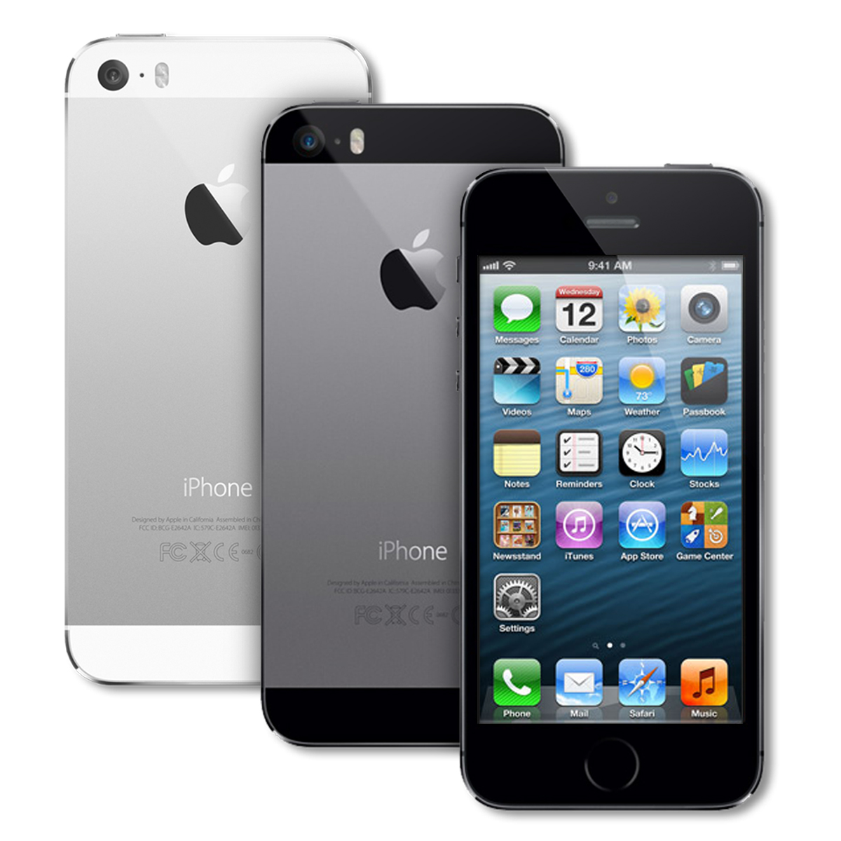 apple iphone 5s 16gb certified refurbished factory. Black Bedroom Furniture Sets. Home Design Ideas