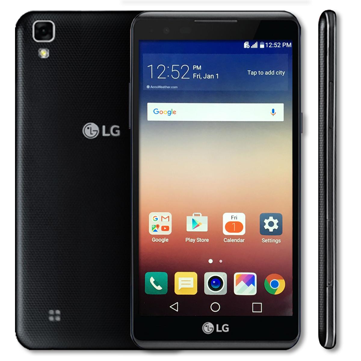 lg x power 16gb lte unlocked smartphone black lgus610 at t t mobile verizon ebay. Black Bedroom Furniture Sets. Home Design Ideas
