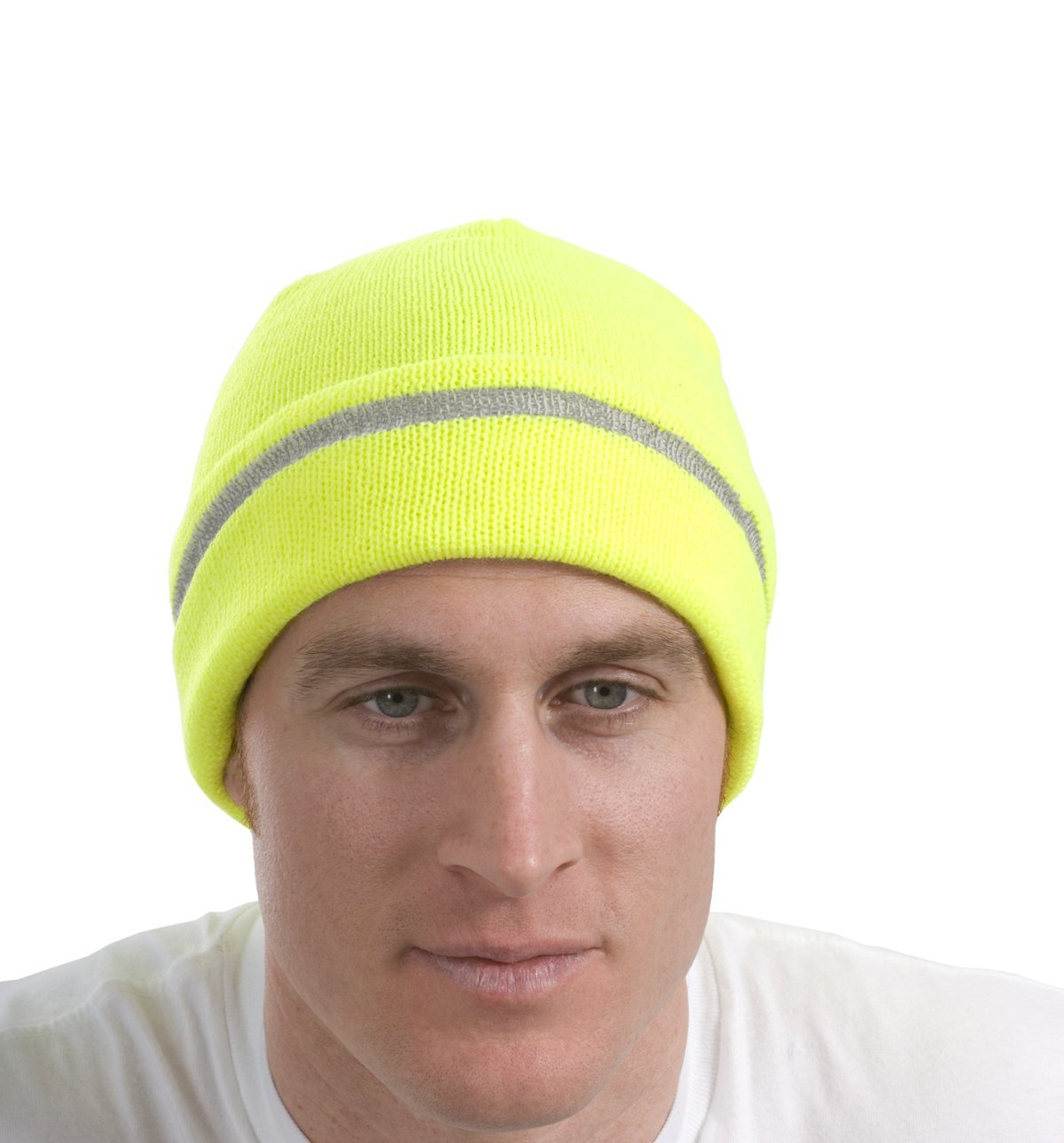 6e4274466ea Safety Beanie Cap with Reflective Stripe