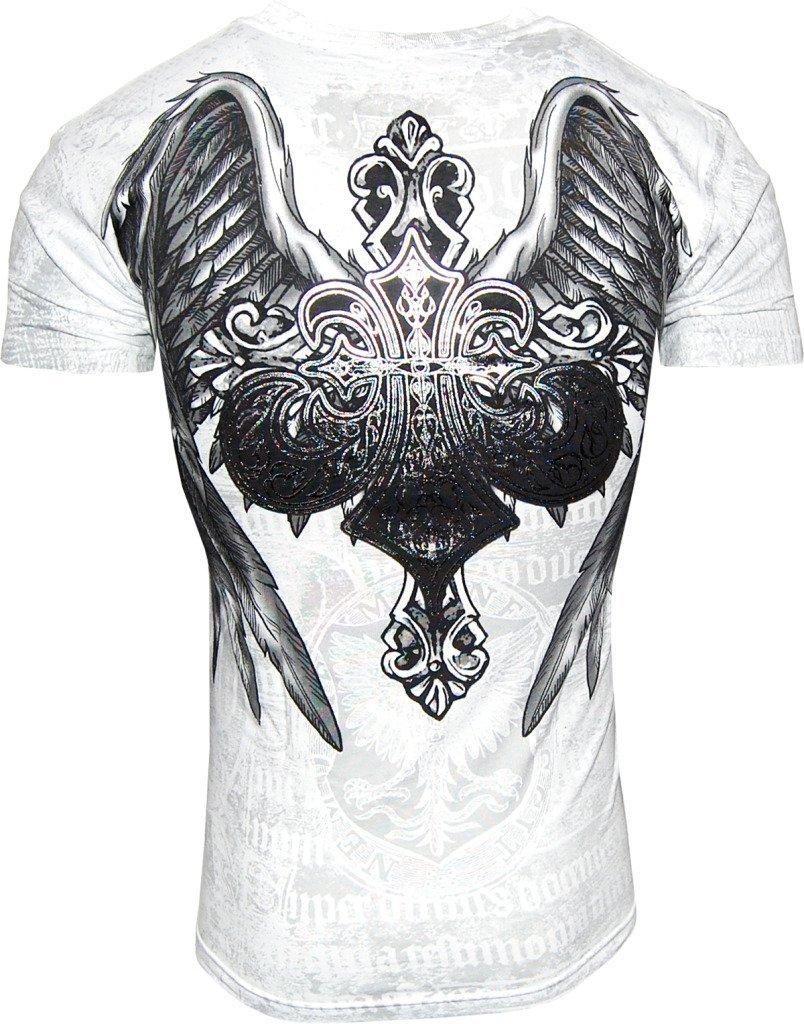 Konflic-NWT-Men-039-s-Saint-039-s-Royalty-Graphic-Designer-MMA-Muscle-T-shirt thumbnail 6