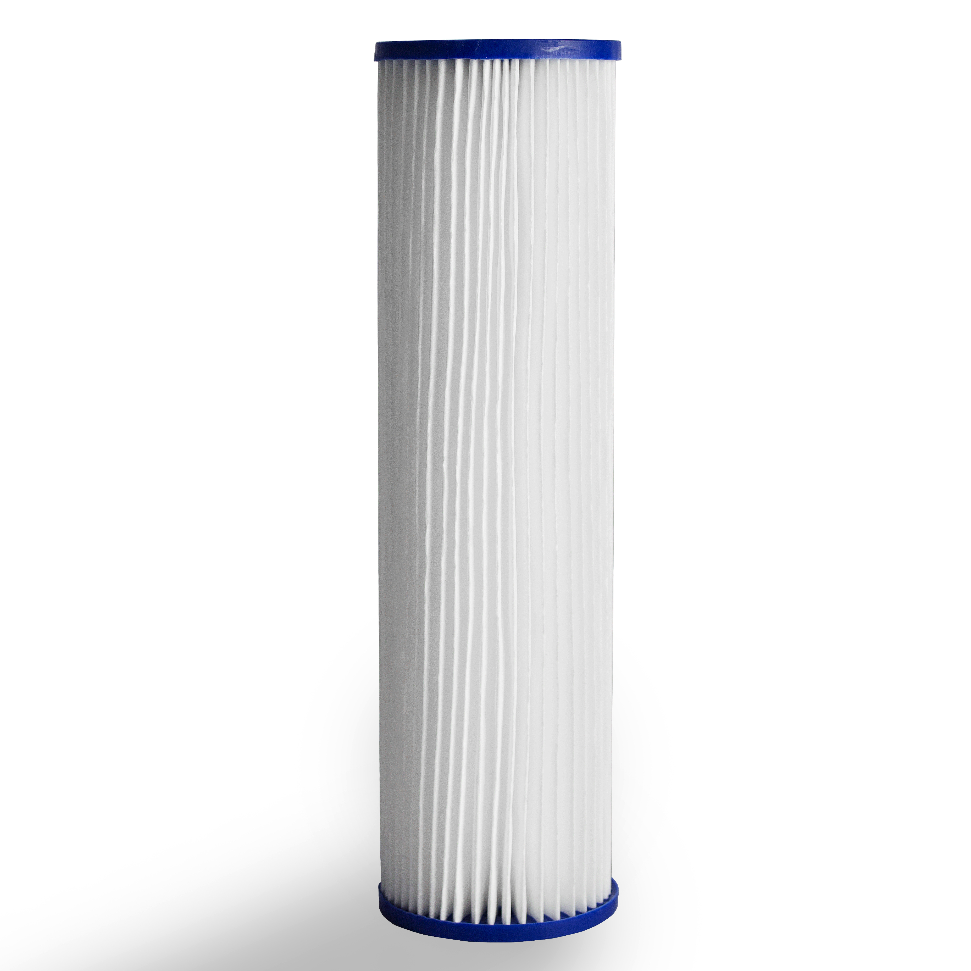 Pleated Poly Sediment Water Filter Cartridge Standard 2.5x10