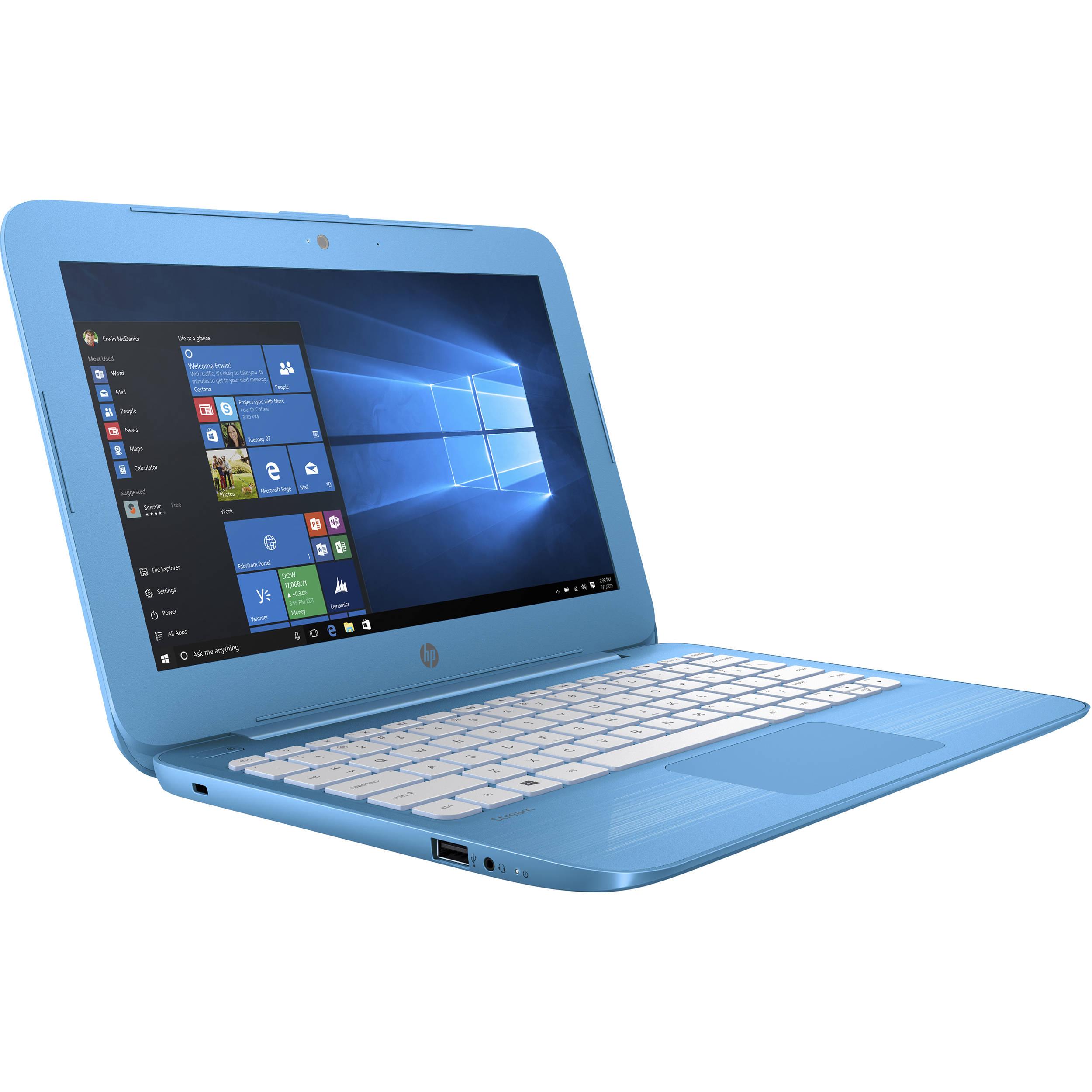 """HP Stream 11-Y010NR 11.6"""" Laptop Intel Celeron N3060 1 ..."""