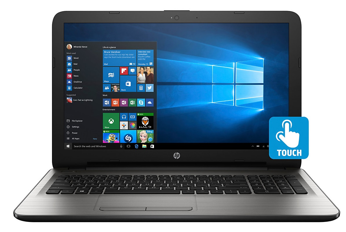 hp 15 ay053nr 15 6 touch laptop intel core i5 6200u 2 3ghz 8gb 1tb windows tanga. Black Bedroom Furniture Sets. Home Design Ideas