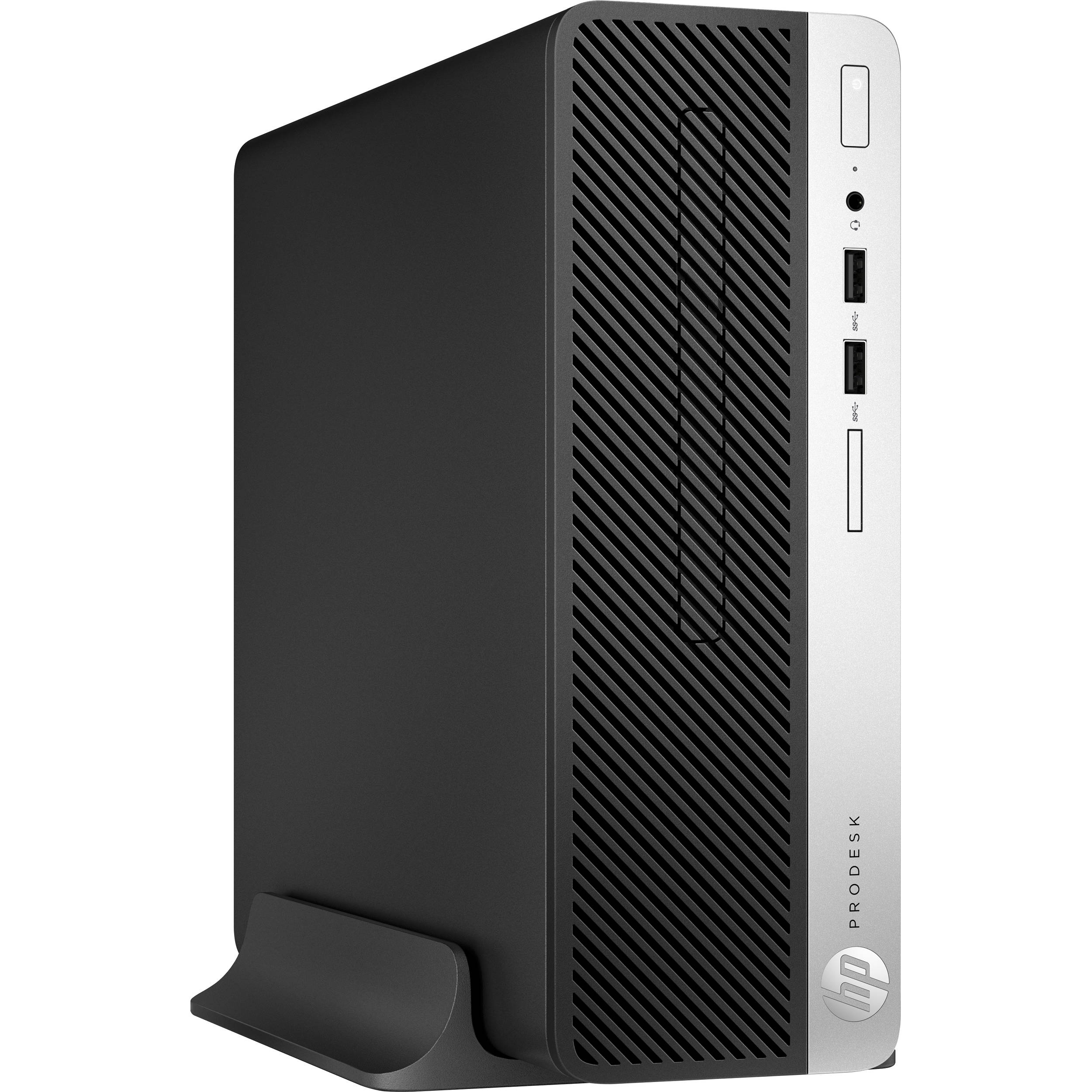 New HP ProDesk 400 G5 Desktop Intel i5-8500 3GHz 8GB 1TB Win 10 Pro | 4BW89UT