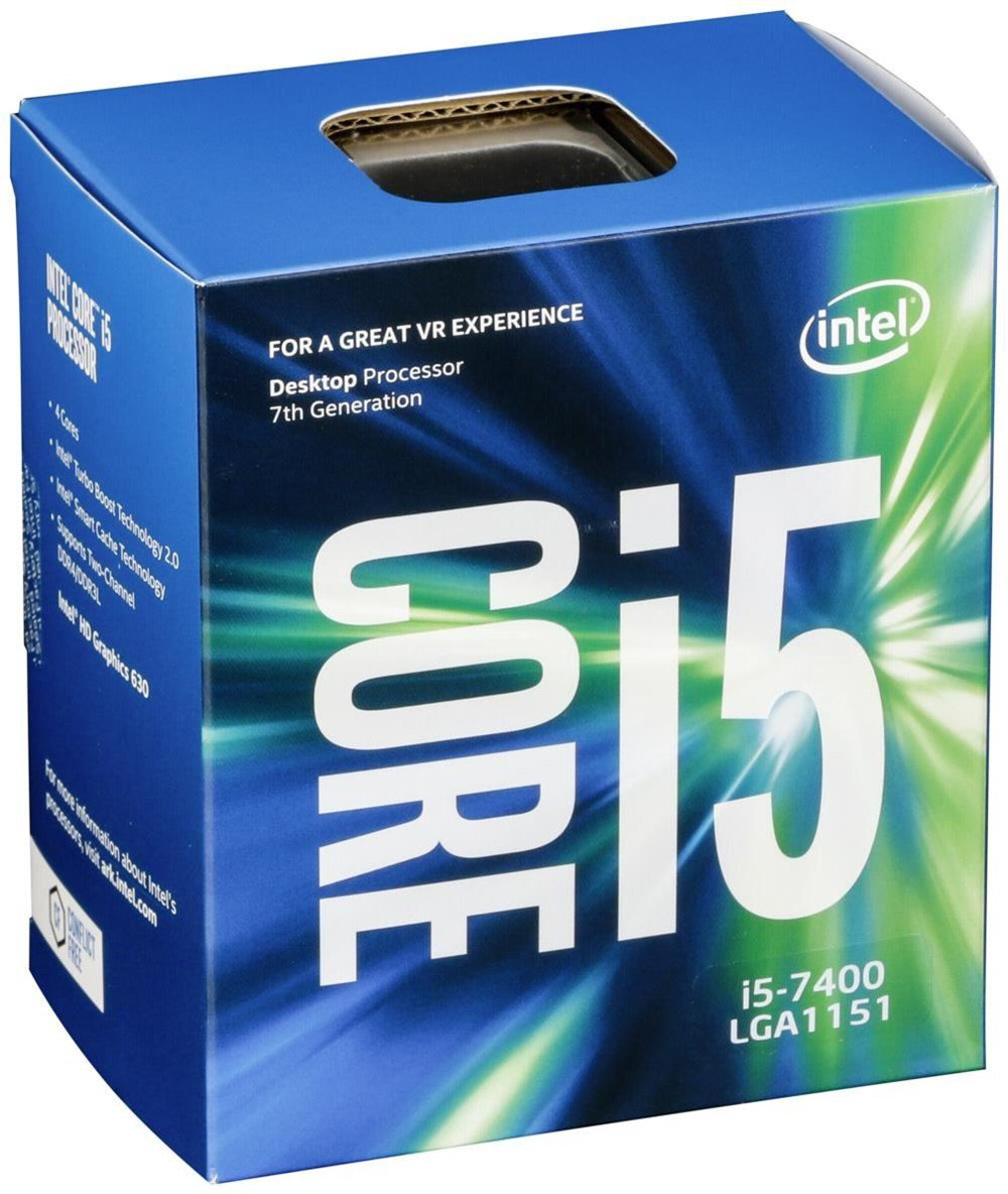 New Intel Core i5-7400 Kaby Lake 4-Core Processor 3GHz 3.5GHz max BX80677I57400 | eBay
