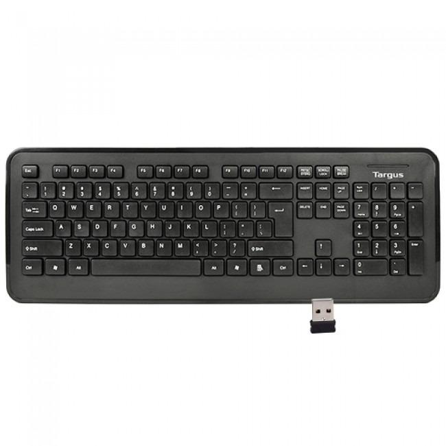 Targus KB214 2.4GHz 104 KEY Wireless Keyboard (Black)