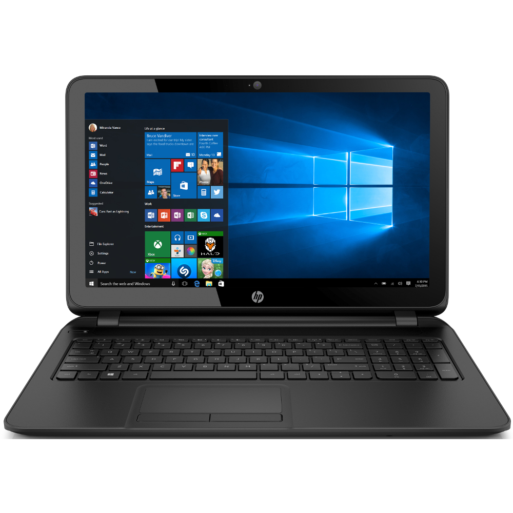 hp 15 ay082nr 15 6 laptop intel celeron n3060 1 6ghz 4gb ddr3 1tb windows 10 ebay. Black Bedroom Furniture Sets. Home Design Ideas