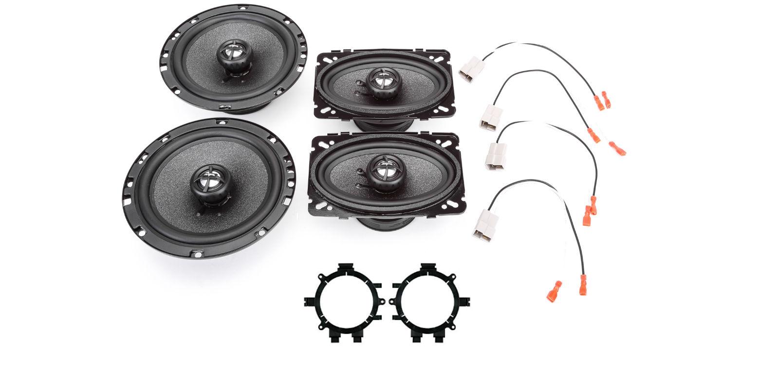 "Fits 1999-2006 Chevy Silverado 5.25/""//4/""X6/"" TX Speaker Upgrade Package by Skar"